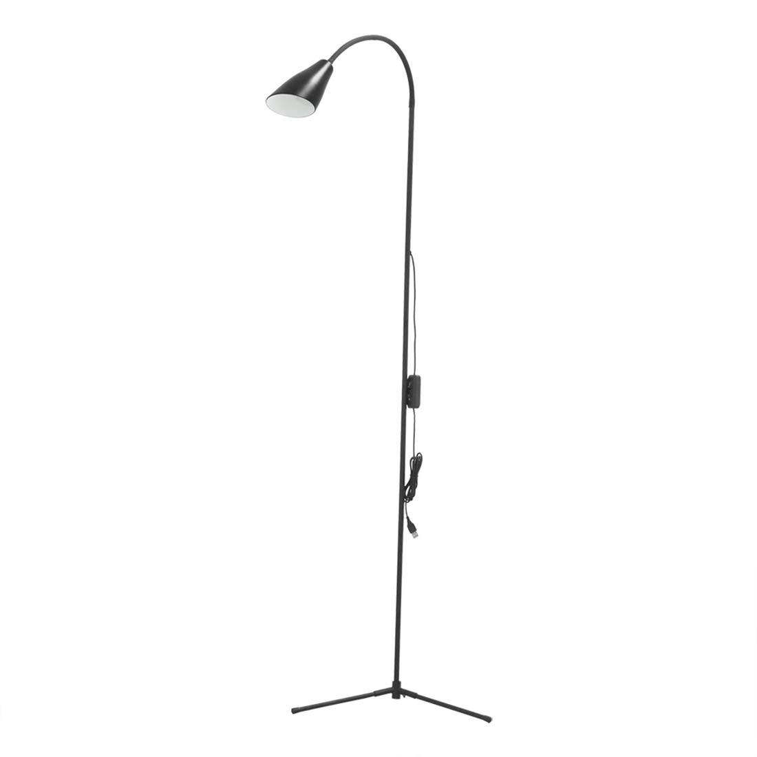 Floor Lamps Ebest Dimmable Led Reading Lamp For Living