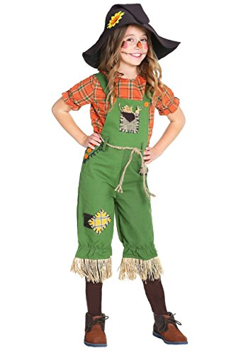 Scarecrow Girls Costume X-Large (Cute Scarecrow Halloween Costume)