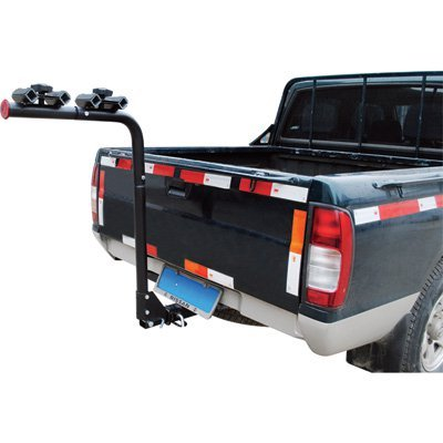 Steel Hitch-Mounted 4-Bike Rack - Fits 2in. Hitch Receiver by Ironton