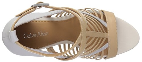 Calvin Klein , Sandales pour femme beige beige