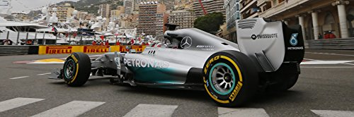 Lewis Hamilton Formula One F1 Large Poster Race Car 2014 Mercedes # 44 Petronas (Best Formula One Car)
