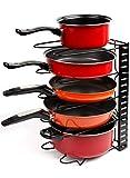 Height Adjustable Pan Organizer Rack, VDOMUS Pan