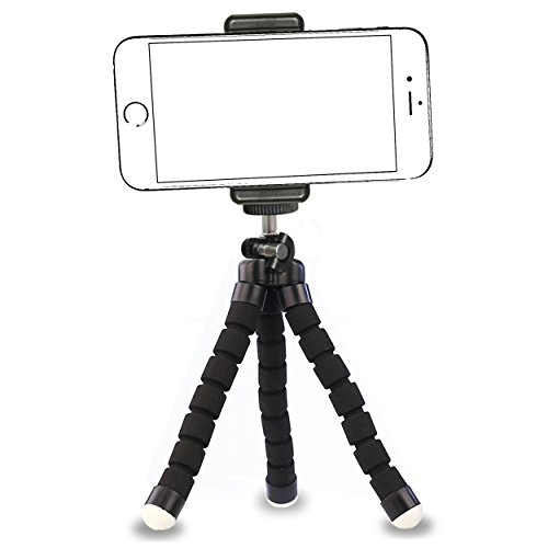 iPhone Tripod,by Ailun,Tripod Mount/Stand,Phone Holder,Compact for iPhone 7/7