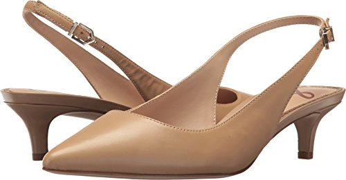 Sam Edelman Women's Ludlow Pump, Classic Nude Leather, 7.5 M US