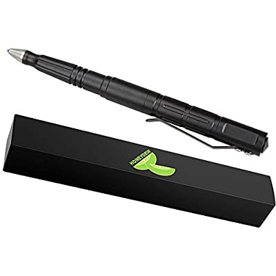 Tactical Pen for Self Defense - Best Concealable Survival Tool for Men & Women - Military Grade Tactical Gear - Black Finish, Maximum Strength by Honeydew from Tactical+