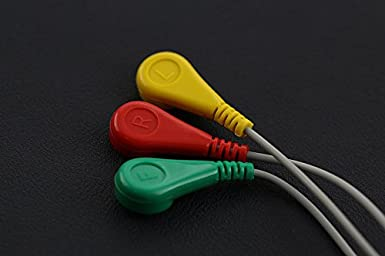 Analógico pulsómetro Sensor (ECG) para Arduino: Amazon.es: Industria, empresas y ciencia