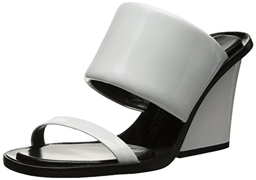 Calvin-Klein-Collection-Womens-Cody-Patent-Chunky-Heel-Wedge-Sandal