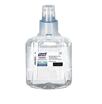 Gojo 1909 02 Purell Advanced Instant Hand Sanitizer Ltx Ultra