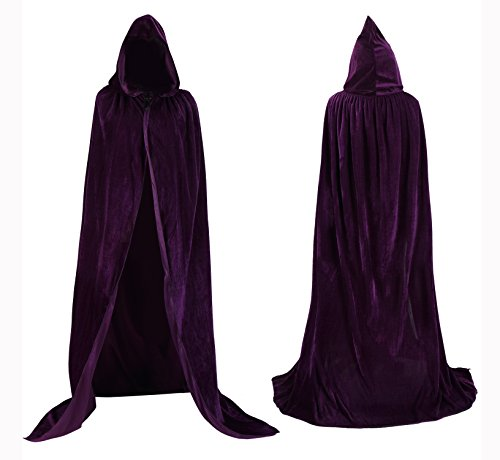 Tuliptrend Unisex Hooded Cloak Costume Party Cape Wedding Cape Large (H And M Fancy Dress)