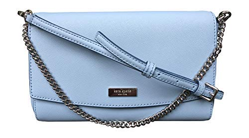 Kate Spade New York Laurel Way Greer Crossbody Handbag Clutch (Blue Dawn) (Accented Clutch Handbag)