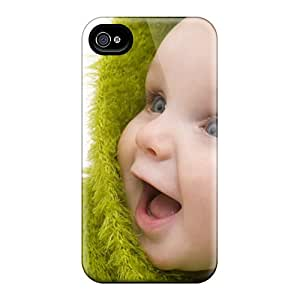 Fashion Tpu Case For Iphone 4/4s- Cute Baby Defender Case Cover