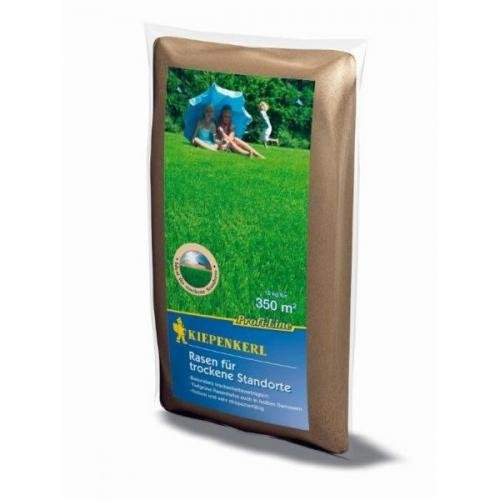 Kiepenkerl Profi Line Rasen für trockene Standorte 10kg 10 kg, Rasensamen, Rasensaat