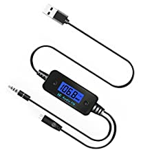 JVR AO19 Wireless FM Transmitter Radio Car Kit with 3.5mm Audio Jack & Micro USB Charge Port for MP3 Player, MP4 MP5, iPod Touch, iPhone 6S 6Plus 6 5S 5 5C 4S 4, Samsung Galaxy S6 Edge S6 S5 S4 S3, Samsung Galaxy Note 5 4 5 2, Nexus 8 7 6 5 4