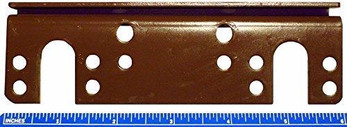 ZaZaTool New 6'' Headboard Footboard Bed Rail Hanger Brackets for 2'' Double Hooks (2 Pack)