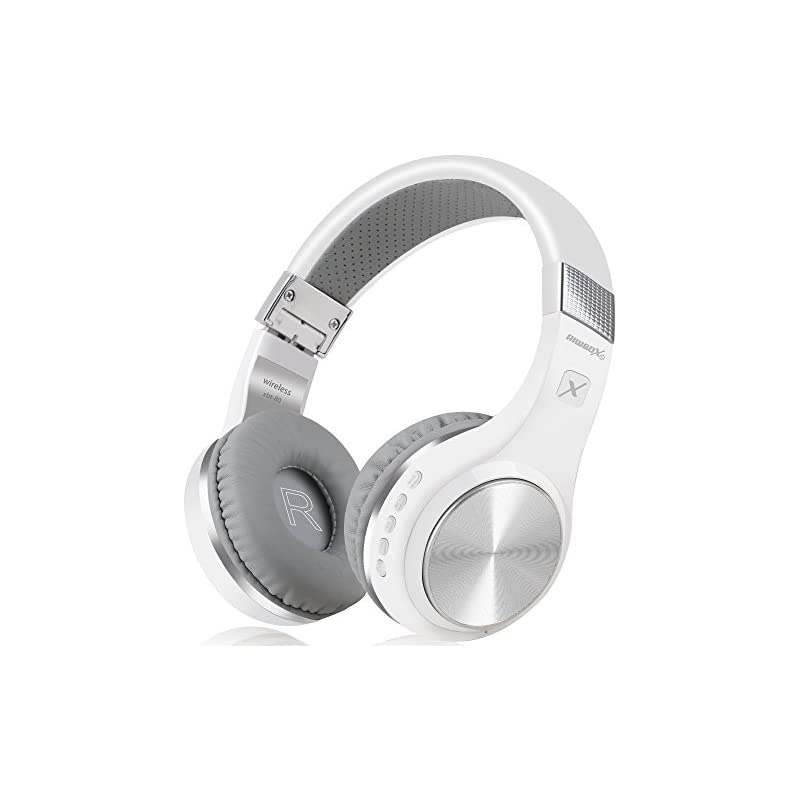 Bluetooth Headphones, Riwbox XBT-80 Fold