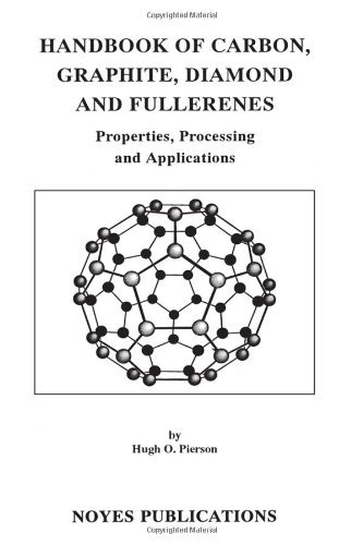 Handbook of Carbon, Graphite, Diamonds and Fullerenes: Processing, Properties and Applications (Materials Science and Process Technology) por Hugh O. Pierson