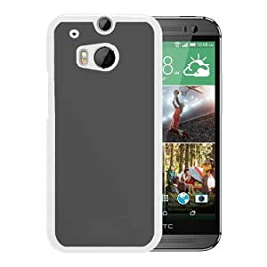 Unique Designed Cover Case For HTC ONE M8 With Apple Late Gray Blurry Gradation Blur Wallpaper (2) Phone Case