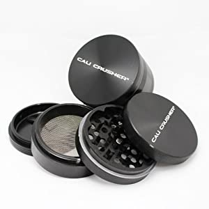 Cali Crusher® Large Authentic Cali Crusher Ultra Premium Herb Grinder 4 Piece : By far the BEST grinder i've ever used/owned
