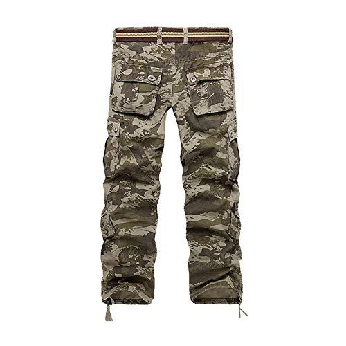 Fit Camuflaje Grün Mujer para para Clásico Pantalones Cortos Carga De Chicos De Pantalones Militares Regular Pantalones Otoño Hombre para Hombre Pantalones Camuflaje De para El SxvHqTwTZR