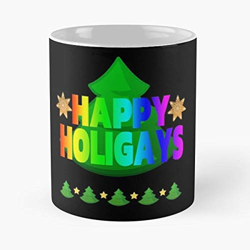 Halloween Gay Humor Meme - 11 Oz Coffee Mugs Unique Ceramic Novelty Cup, The Best Gift For Holidays.