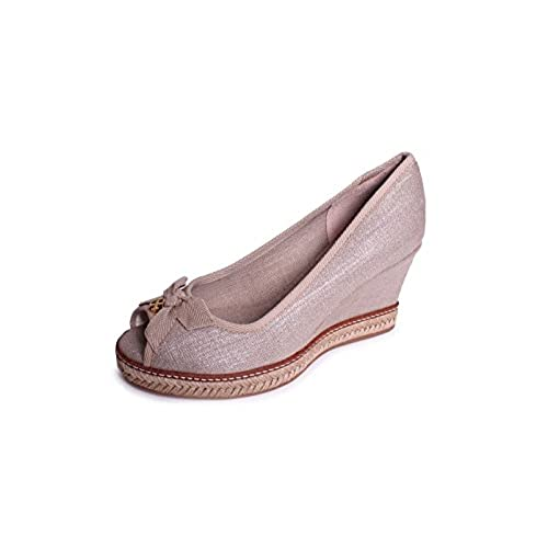 598ce9fe48e 80%OFF Tory Burch Jackie 2 85MM Wedge in Natural - garde-partagee.ca