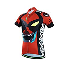Kids Boys Cool Multicolor Bicycle Cycling Jersey Shirt With 3D Padded Shorts
