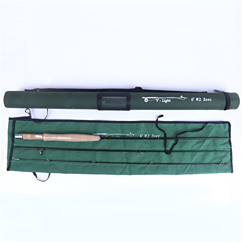- FullMoon Outfitters 6ft 2wt 3pc Travel Fly Rod from FMO Unoffically Referred to As Our Native Brookie Series IM12 Graphite w/Cordura Tube + Free Tippet TENDERS & Tippet Rings