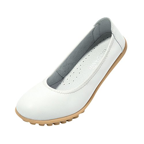 de mujer para Grand Sintético Bailarinas Material Blanco Blanco Hee fqvAETww