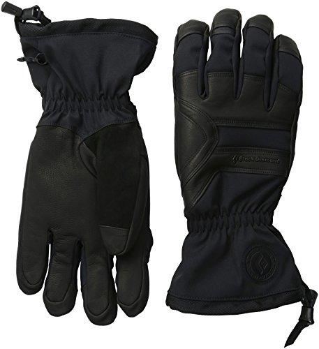 - Black Diamond Men's Patrol Gloves, Black, X-Large