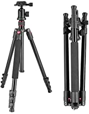 Neewer Alluminum Alloy 62 inches/158 centimeters Camera Tripod with 360 Degree Ball Head,1/4 inch Quick Shoe Plate,Bag for DSLR Camera,Video Camcorder,Load up to 17.6 pounds/8 kilograms