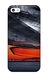 Fashion Tpu Case For Iphone 5/5s- Lamborghini Aventador Sports Car Defender Case Cover