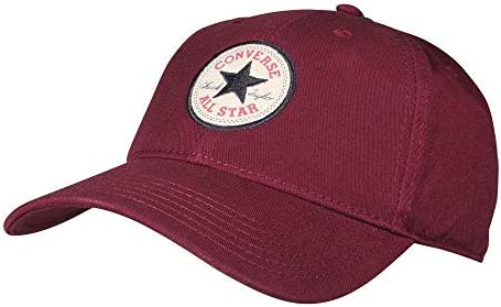 19b07c805ff76 Converse Unisex Core Classic Twill Curved Baseball Cap (Bordeaux ...