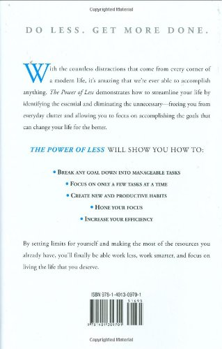 The Power Of Less Leo Babauta Pdf