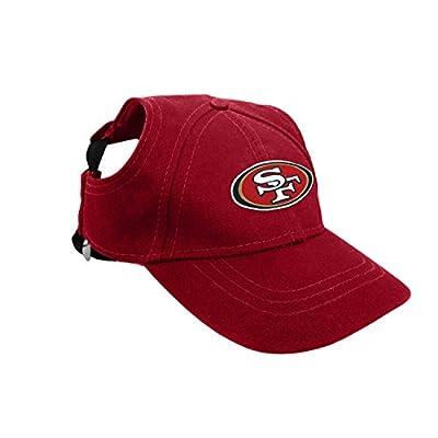 San Francisco 49ers Pet Baseball Hat - Medium