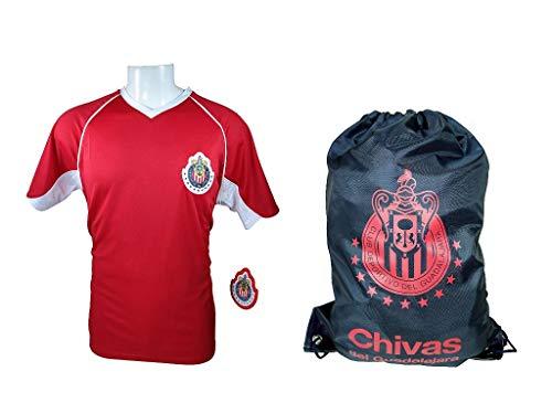 157228fbe RHINOXGROUP Chivas De Guadalajara Official Soccer Jersey Set 2 Items -03  XLarge