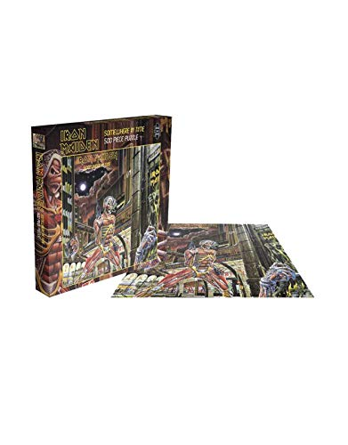 Iron Maiden Jigsaw Puzzle Somewhere in Time Album Official 500 Piece