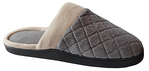 Ash Microterry Slipper Maddie Clog Women's Isotoner xZ4qXYx