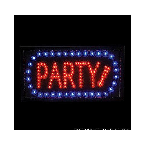 10''X19'' Light-Up ''Party'' Sign by Bargain World