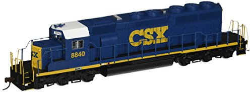 Sd40 2 Locomotive - Bachmann Industries EMD SD40 2 DCC CSX #8840 Ready Locomotive (HO Scale), Dark Future