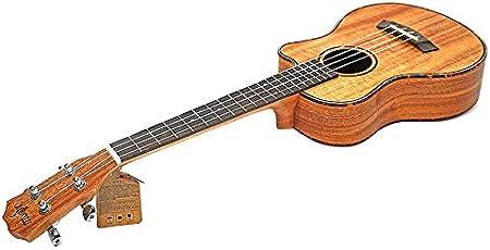 QLJ08 26 pulgadas ukelele acústico 4 stgs guitarra viaje madera ...