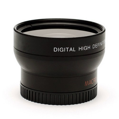 37mm High-Definition Multi Coated 2x Telephoto Lens For HD Digital Video & Camera Recording