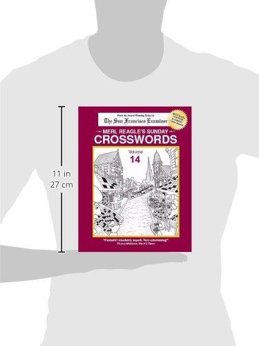 Merl Reagle S Sunday Crosswords Volume 14 Merl Reagle Merl Reagle Dave Miller 9780976288824 Amazon Com Books
