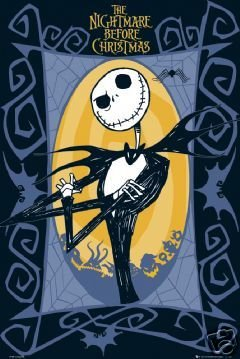 The Nightmare Before Christmas Poster Jack New