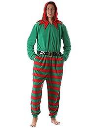 Wholesale Christmas Pajamas Funny Flannel Cheap Christmas Pajamas Party.  mens adult onesie microfleece jumpsuit one piece pajamas f3dcd78cf