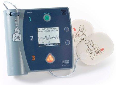 Philips HeartStart FR2+ AED Defibrillator (Philips Defibrillator Aed)