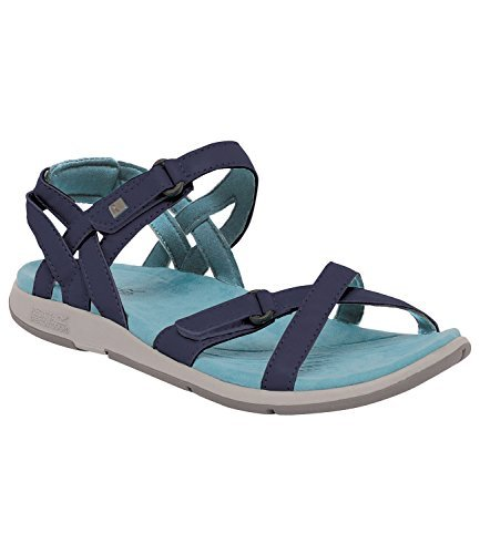 46f9bf9b055 Regatta Women s Santa Cruz Walking Sandals Navy   Stillwater Blue 8 ...