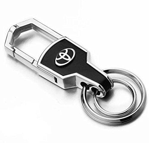 TKXT Zinc alloy Car Logo Keychain key ring For Toyota