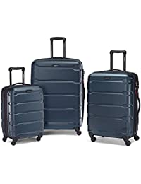 Omni PC Hardside Expandable Luggage with Spinner Wheels, Teal