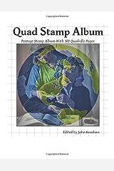Quad Stamp Album Paperback