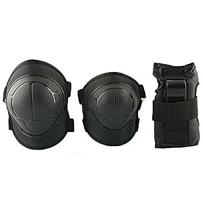 Protections : protège-poignets, genouillères, protèges poignets handgelenkschoner pour les enfants, les adolescents h110 bLACK nils
